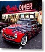 Hot Rod Diner Classic  Metal Print
