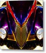 Hot Rod Eyes Metal Print by motography aka Phil Clark