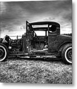 Hot Rod Revisited Metal Print