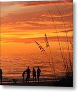 Hot Sunset Metal Print