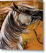 Hot Temper Metal Print