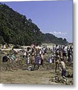 Hot Water Beach Metal Print