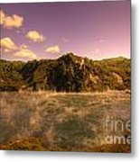 Hot Water Lake Metal Print