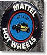 Hot Wheels Hot Heap Metal Print