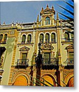 Hotel Alfonso Xiii - Seville Metal Print