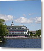 Hotel At Lake Winnipesaukee Metal Print