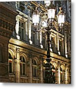 Hotel De Ville In Paris Metal Print