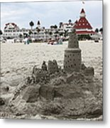 Hotel Del Coronado In Coronado California 5d24264 Metal Print by Wingsdomain Art and Photography
