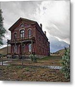 Hotel Meade - Bannack Ghost Town - Montana Metal Print