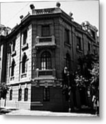 hotel paris-londres barrio paris londres Santiago Chile Metal Print