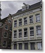 Hotel Prins Hendrick Amsterdam Metal Print