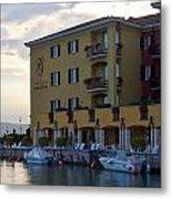Hotel Sirmione. Lago Di Garda Metal Print