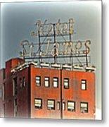 Hotel St. James Metal Print