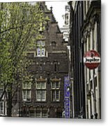 Hotel The Globe Amsterdam Metal Print