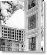 Houdini Plaza Metal Print by Thomas Young