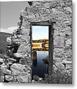 Houghton Through The Magic Door Metal Print