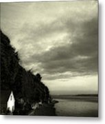Hous On The River Metal Print