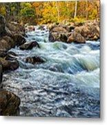 Housatonic River Autumn Metal Print