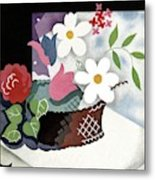 House And Garden Summer Furnishings Number Cover Metal Print