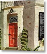 House And Garden Trends In Decorating Cover Metal Print