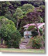 House And Garden Waitamgi Metal Print