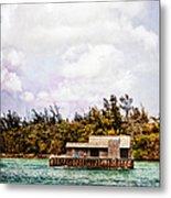House Boat Metal Print