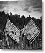 House Broken Metal Print