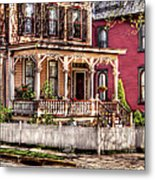 House - Country Victorian Metal Print