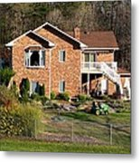 House From The Highest Point Metal Print