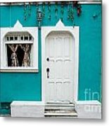 House Front Mexico Metal Print