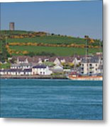 House In A Town, Portaferry Metal Print