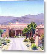 House In Borrego Springs Metal Print by Mary Helmreich