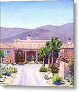 House In Borrego Springs Metal Print