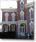 House In Denison Texas Metal Print