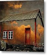 House In The Clouds Metal Print