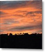 House In The Sunrise Metal Print
