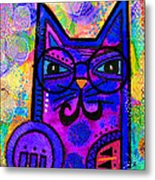 House Of Cats Series - Paws Metal Print