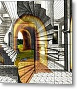 House Of Dreams Metal Print