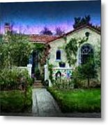 House Of Our Dreams Metal Print by Cary Shapiro