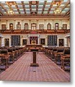 House Of Representatives - Texas State Capitol Metal Print