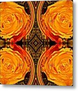 House Of Roses Metal Print