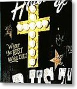 House Of Rust Metal Print