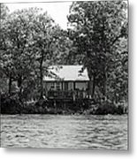 House On An Island Metal Print by Thomas Fouch