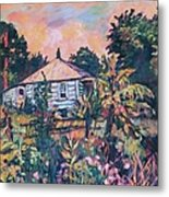 House On Route 11 Metal Print