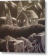 House On The Hills Metal Print