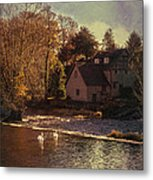 House On The River Metal Print
