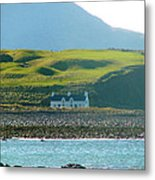 House On The Shore Metal Print