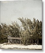 House On The Water Metal Print