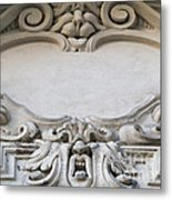 House Sign - Relief Metal Print