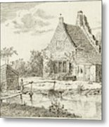 House Snaatburg Maarssen, The Netherlands Metal Print